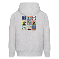 Hoodies ~ Men's Hooded Sweatshirt ~ Men's Hooded Pekar Sweatshirt