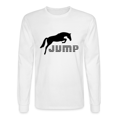 White horses Long Sleeve Shirts