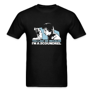 T-Shirts ~ Men's Standard Weight T-Shirt ~ You like me because I'm a scoundrel
