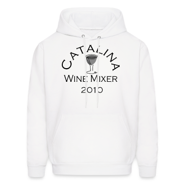 White Catalina Wine Mixer Hoodies
