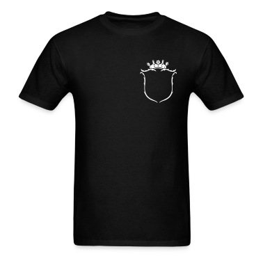 Black Coat of arms T-Shirts