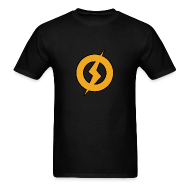 T-Shirts ~ Men's Standard Weight T-Shirt ~ Lightning Man Logo Tee