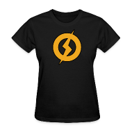 Women's T-Shirts ~ Women's Standard Weight T-Shirt ~ Lightning Man Women's Tee