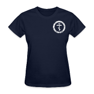 Women's T-Shirts ~ Women's Standard Weight T-Shirt ~ Women's Navy Tee