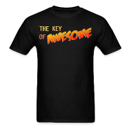 T-Shirts ~ Men's Standard Weight T-Shirt ~ The Key of Awesome Logo Men