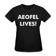 Women's T-Shirts ~ Women's Standard Weight T-Shirt ~ Aeofel Lives!