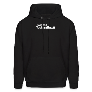 Hoodies ~ Men's Hooded Sweatshirt ~ Twisted Tools Simple Logo - Hoodie