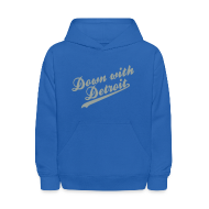 Sweatshirts ~ Kids' Hooded Sweatshirt ~ Down with Detroit Kid's Hooded Sweatshirt