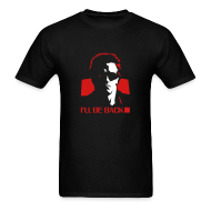T-Shirts ~ Men's Standard Weight T-Shirt ~ Terminator: I'll Be Back