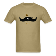 T-Shirts ~ Men's Standard Weight T-Shirt ~ Gentleman Stache Tee