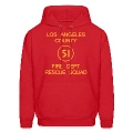 Squad 51 EMERGENCY! Men's Hooded Sweatshirt