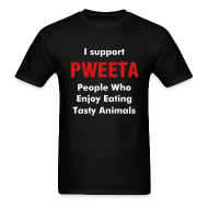 T-Shirts ~ Men's Standard Weight T-Shirt ~ PWEETA ROCKS!