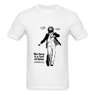 T-Shirts ~ Men's Standard Weight T-Shirt ~ Jesus is the Force