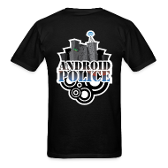 T-Shirts ~ Men's Standard Weight T-Shirt ~ Android Police - Front & Back