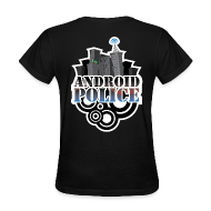 Women's T-Shirts ~ Women's Standard Weight T-Shirt ~ Android Police - Front & Back
