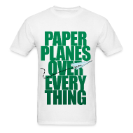 T-Shirts ~ Men's Standard Weight T-Shirt ~ Planes over Everything