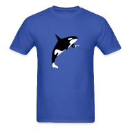 T-Shirts ~ Men's Standard Weight T-Shirt ~ Killer Whale