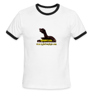 T-Shirts ~ Men's Ringer T-Shirt by American Apparel ~ Pedantor! (Ringer Tee)