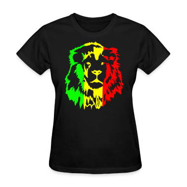 Rasta lion Women's T-Shirts