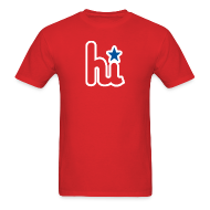 T-Shirts ~ Men's Standard Weight T-Shirt ~ Hi - Mens
