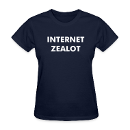 Women's T-Shirts ~ Women's Standard Weight T-Shirt ~ Internet Zealot Women's Standard Shirt