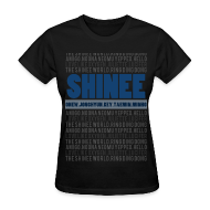 Women's T-Shirts ~ Women's Standard Weight T-Shirt ~ |SHINee| - All About SHINee