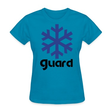 winter guard snowflake Women's T-Shirts