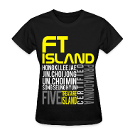 Women's T-Shirts ~ Women's Standard Weight T-Shirt ~ |FT ISLAND| Sparking Primadonna
