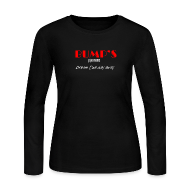 Long Sleeve Shirts ~ Women's Long Sleeve Jersey T-Shirt ~ Bump's women's long-sleeve T