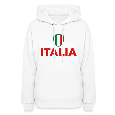 Italy Emblem Small 1 (3c) Hoodies