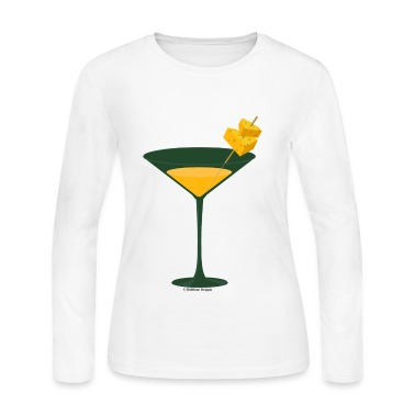 Green Bay Packer-tini long sleeve tee