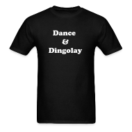 T-Shirts ~ Men's Standard Weight T-Shirt ~ IZATRINI Original Dance & Dingolay