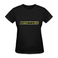 Women's T-Shirts ~ Women's Standard Weight T-Shirt ~ Boychaholic - Women's standard weight