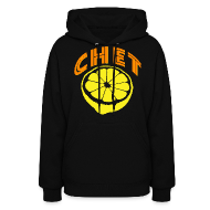Hoodies ~ Women's Hooded Sweatshirt ~  Chet Women's Hooded Sweatshirt