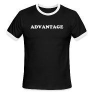 T-Shirts ~ Men's Ringer T-Shirt by American Apparel ~ ADVANTAGE