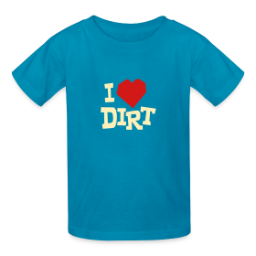 """I Heart Dirt"" Kids Green ~ 79"