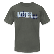 T-Shirts ~ Men's T-Shirt by American Apparel ~ Battier-Memphis