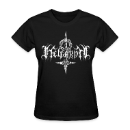 Women's T-Shirts ~ Women's Standard Weight T-Shirt ~ Helgardh Crucifix Logo Women's T 666