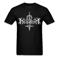 T-Shirts ~ Men's Standard Weight T-Shirt ~ Helgardh Crucifix Logo Men's T 666