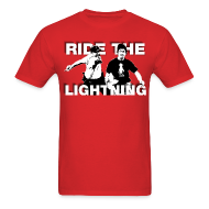 T-Shirts ~ Men's Standard Weight T-Shirt ~ RIDE THE LIGHTNING RETURNS