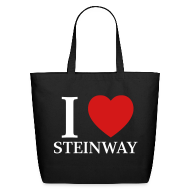 Bags & backpacks ~ Eco-Friendly Cotton Tote ~ I Love Steinway
