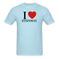 T-Shirts ~ Men's Standard Weight T-Shirt ~ I Love Steinway