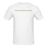 T-Shirts ~ Men's Standard Weight T-Shirt ~ Future Steinway Artist