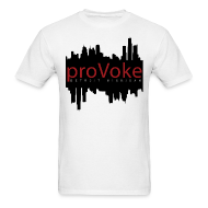T-Shirts ~ Men's Standard Weight T-Shirt ~ proVoke - Detroit City Red