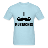 T-Shirts ~ Men's Standard Weight T-Shirt ~ Mustaches!
