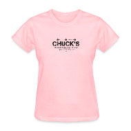 Women's T-Shirts ~ Women's Standard Weight T-Shirt ~ Chuck's Women's Standard Weight T