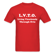 T-Shirts ~ Men's T-Shirt ~ Living Vicariously Through Ovie