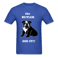 T-Shirts ~ Men's Standard Weight T-Shirt ~ Butler Did It!