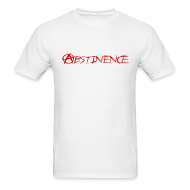 T-Shirts ~ Men's Standard Weight T-Shirt ~ Abstinence!!!!!