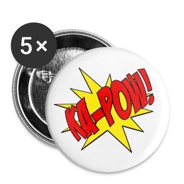 Ka-Pow comic book sfx pin